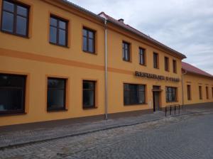 Nově zrekonstruovaná budova restaurace